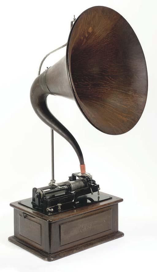 An Edison Triumph Phonograph