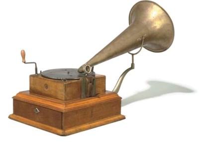 A Deutsche Grammophon coin-slo