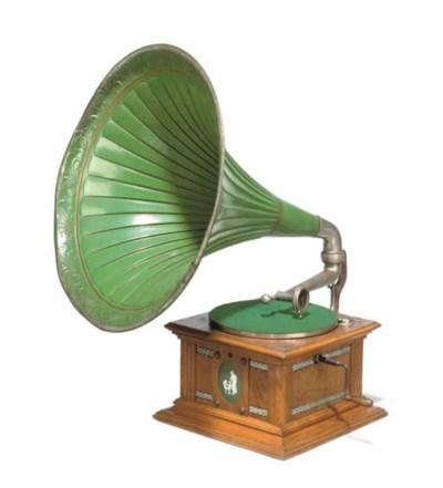 A Lindstroem horn gramophone