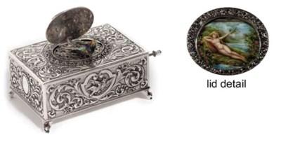 An erotic singing bird box