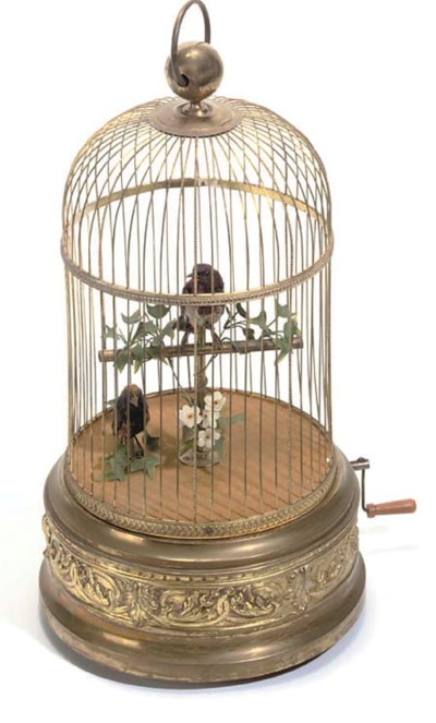 Two singing birds-in-cage prob