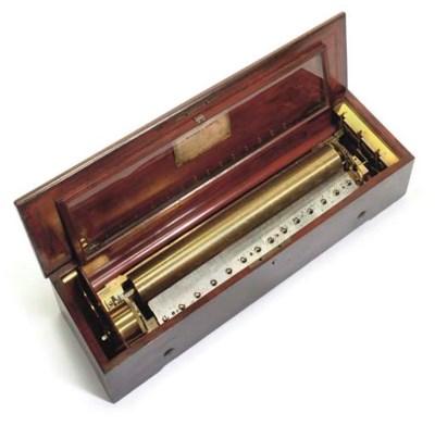 A Mandoline musical box by Nic