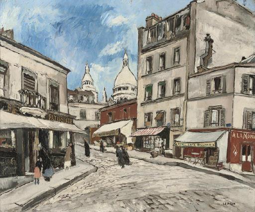 Rue Drevet, Montmartre