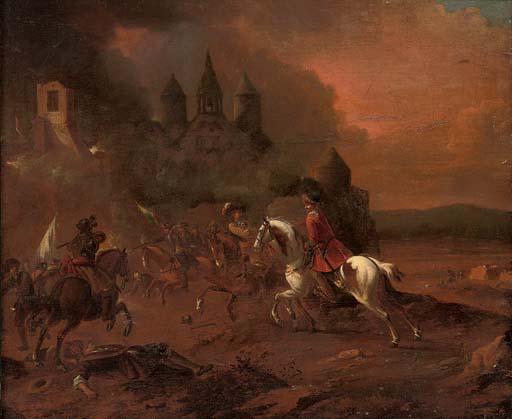 Circle of Pieter van Bloemen,