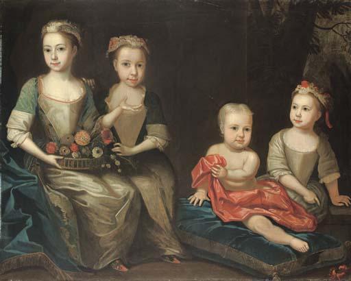 Circle of James Maubert (1666-