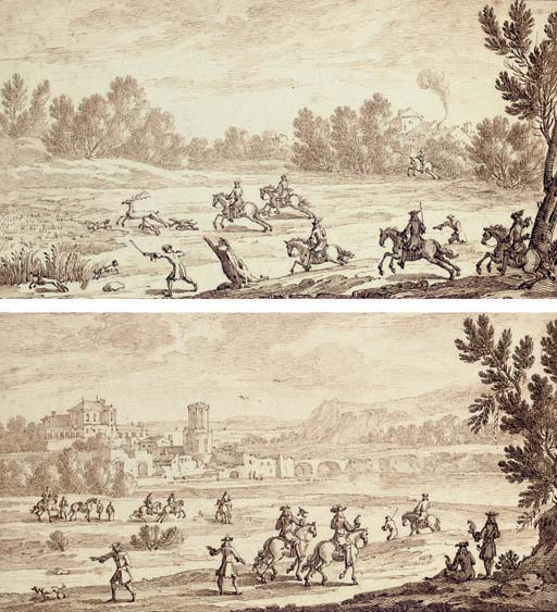 Attributed to Israel Silvestre (Nancy 1621-1691 Paris)
