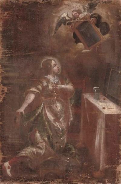 Follower of Juan de Valdes Léa