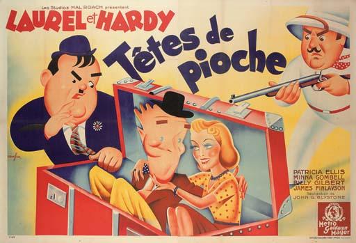 Block-Heads  Têtes De Pioche
