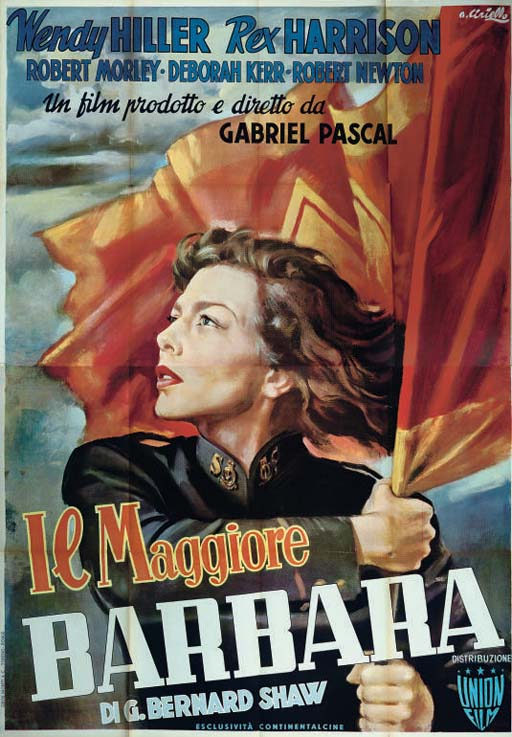 Major Barbara  Il Maggiore Bar