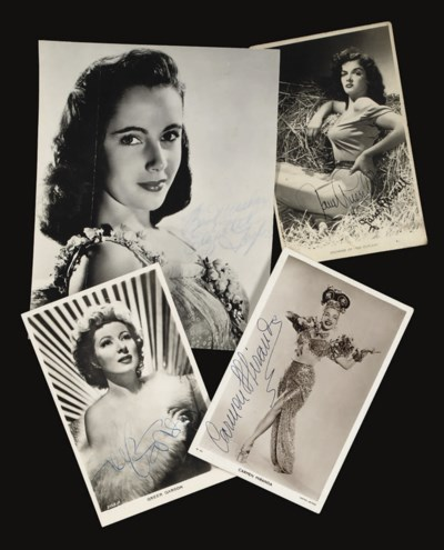 Various Film Stars And Enterta