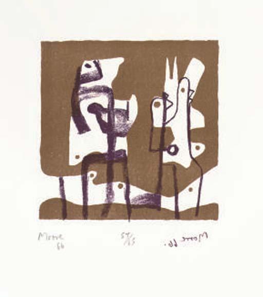Henry Moore (British, 1898-198