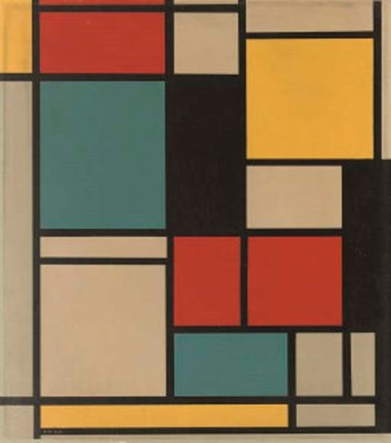 After Piet Mondrian (Dutch, 18