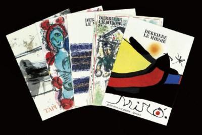 Marc Chagall, Joan Miró, Anton