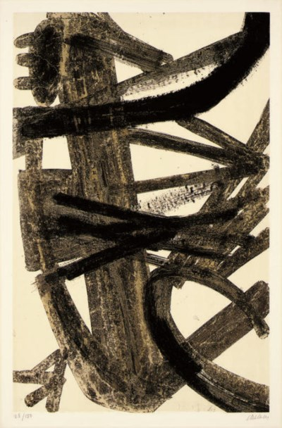 After Pierre Soulages