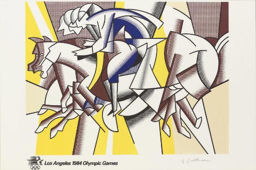 After Roy Lichtenstein (1923-1