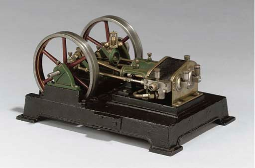 An unusual model twin cylinder