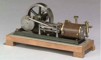 A model single cylinder horizo