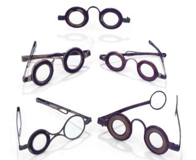 Five pairs of English Martin's