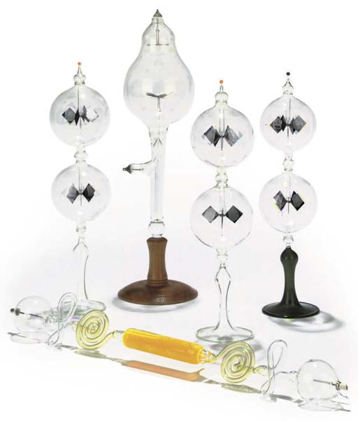 A collection of x-ray tubes,