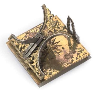 A fine Augsburg gilt-brass and
