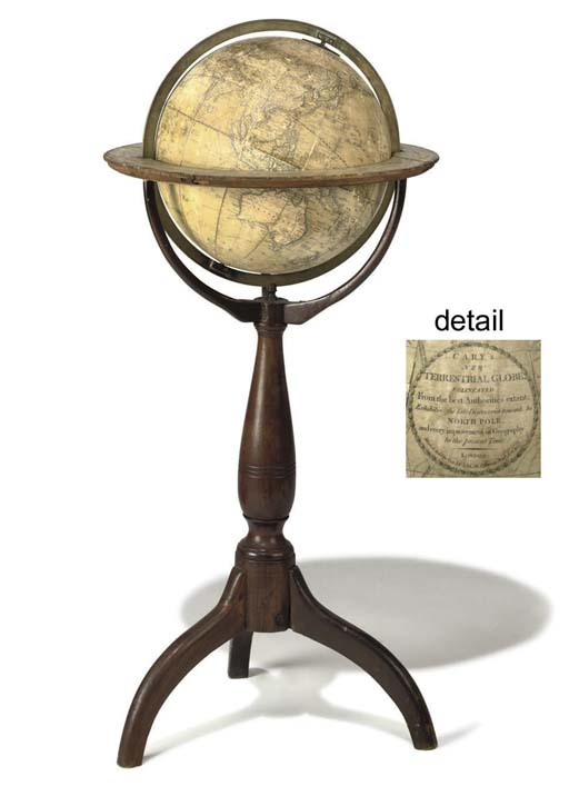 An English 13-inch terrestrial