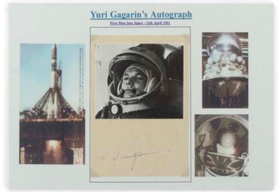 the first man in space, yuri g