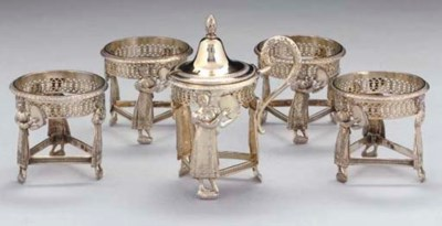 AN EARLY 19TH CENTURY FRENCH S