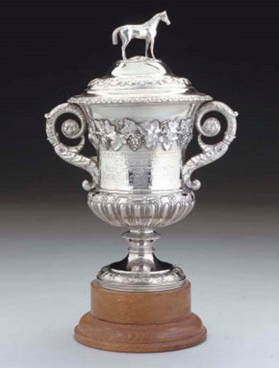 A GEORGE IV SILVER RACING TROP