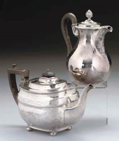 A 19TH CENTURY FRENCH SILVER H
