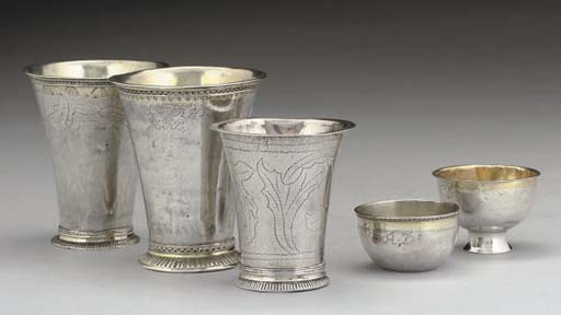 A GROUP OF THREE 18TH CENTURY