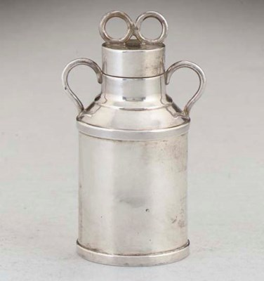 A FRENCH SILVER-MOUNTED PEPPER