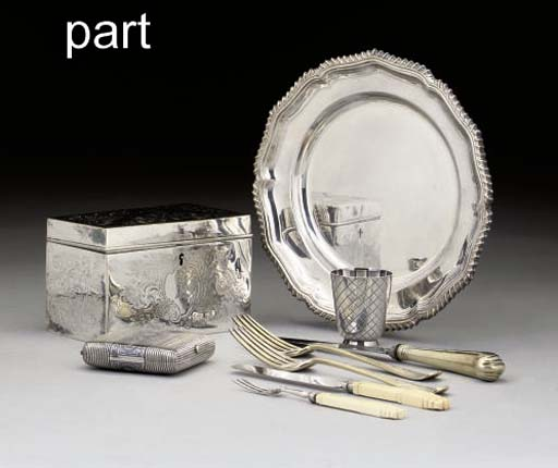 A COLLECTION OF SILVER AND PLA