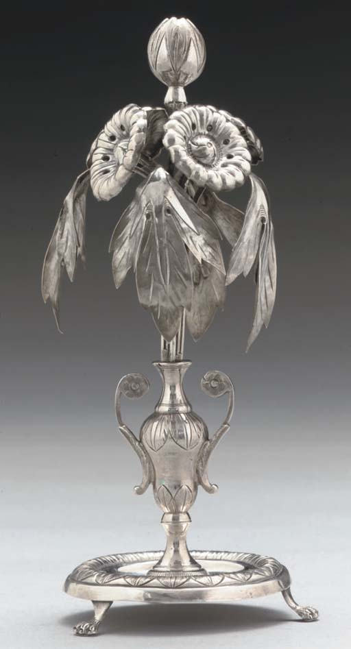 A 19TH CENTURY PORTUGESE SILVE