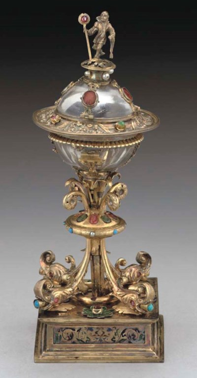 A 19TH CENTURY VIENNESE SILVER