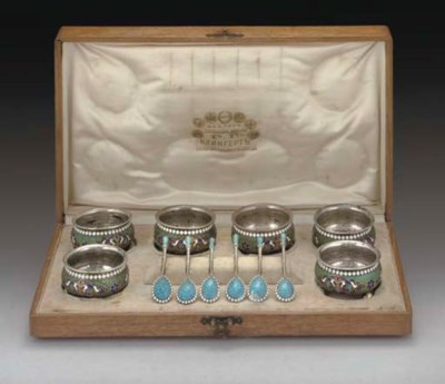 A SET OF SIX LATE 19TH CENTURY