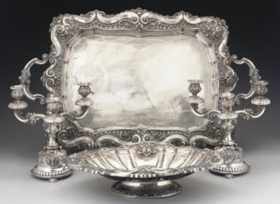 A 20TH CENTURY PORTUGESE SILVE