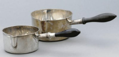 A 19TH CENTURY FRENCH SILVER S