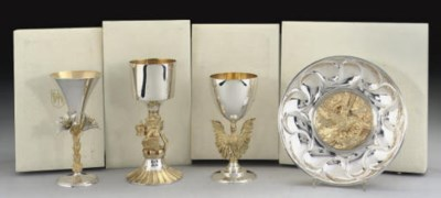 THREE VARIOUS MODERN SILVER CO