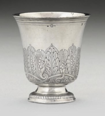 AN EARLY 18TH CENTURY FRENCH S