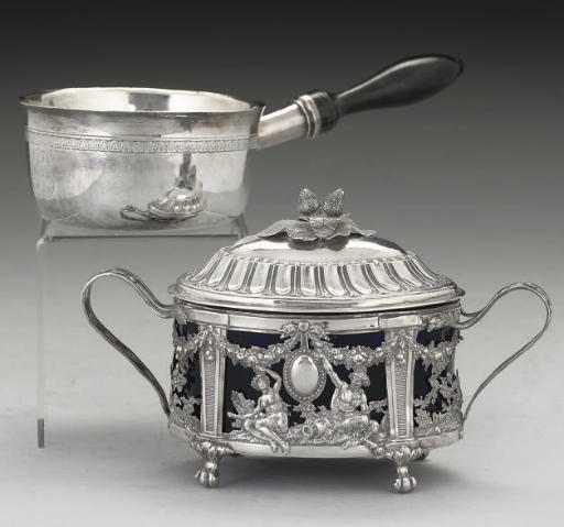 A LATE 18TH CENTURY FRENCH SIL