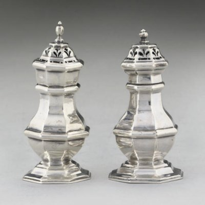 TWO EARLY 18TH CENTURY SILVER