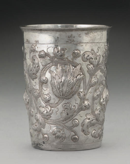 AN 18TH CENTURY RUSSIAN SILVER