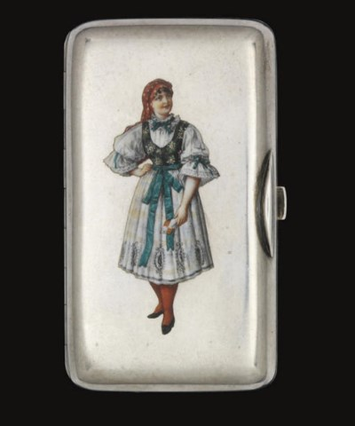 A LATE 19TH CENTURY RUSSIAN SI