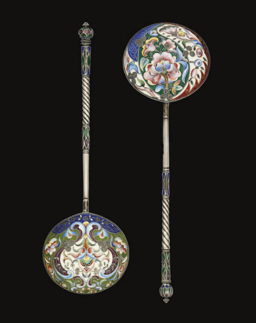 TWO EARLY 20TH CENTURY RUSSIAN