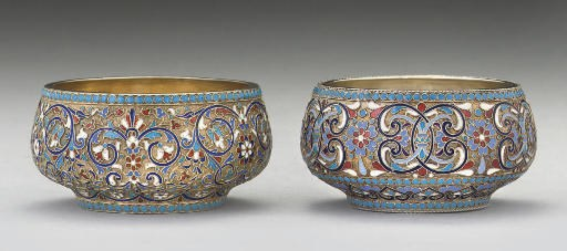 TWO LATE 19TH CENTURY RUSSIAN