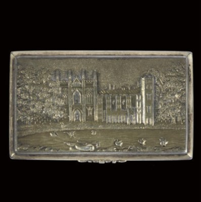 A William IV silver-gilt