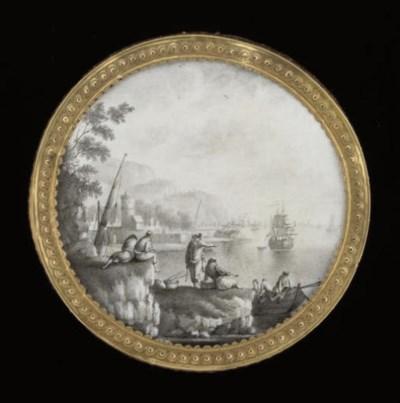 A Louis XVI gold-mounted woode