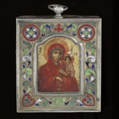 A small Russian icon