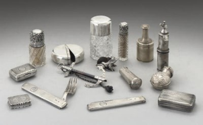 A COLLECTION OF SMALL SILVER I