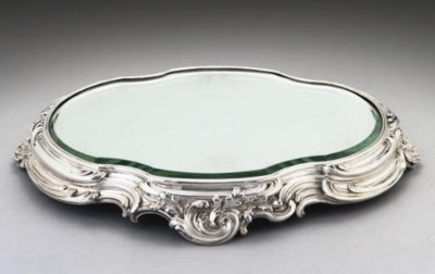 A LATE 19TH CENTURY FRENCH SIL